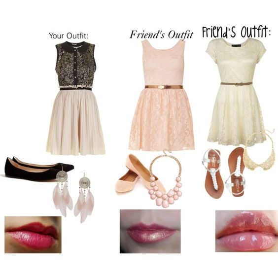 Middle School Dance With Your Friends by emmamaryt on Polyvore--or they could all be mine ...
