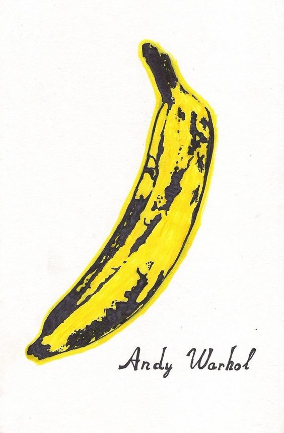 バナナ  by アンディ・ウォーホル)