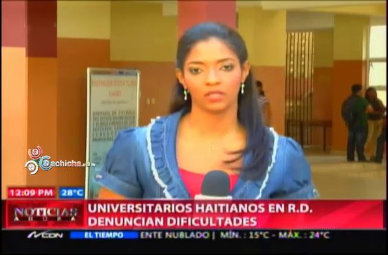 Universitarios Haitianos En RD Denuncian Dificultades #Video