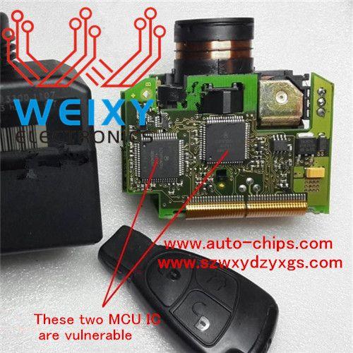 Mc68hc908az60vfu 2j74y Original Import Mercedes Benz Eis Vulnerable Mcu Mercedes Benz Mercedes Benz