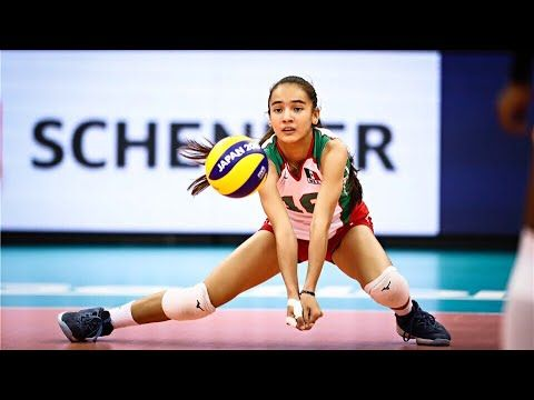 16 Years Old Melanie Parra Amazing Volleyball Player Hd Youtube Volleyball Players Volleyball Training Volleyball
