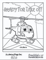 Personalize coloring pages before printing them off.