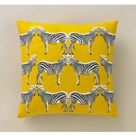 Dwell Studios, Zebra Citrine Pillow,$80.00