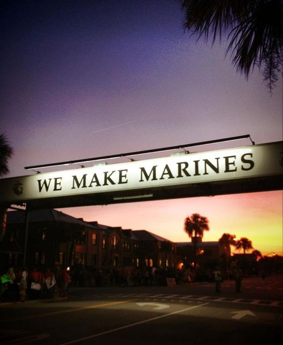 """We Make Marines."" Semper Fi. #USMC Parris Island, SOUTH CAROLINA. {Gives me chills!}"