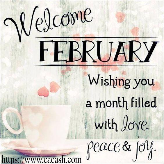 Happy February  5684cc5fd933b8047cd2988f4a0130b5