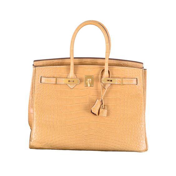 hermes birkin bag replica - STUNNING NEW COLOR HERMES BIRKIN BAG 35cm CROCODILE MATTE MAIS ...