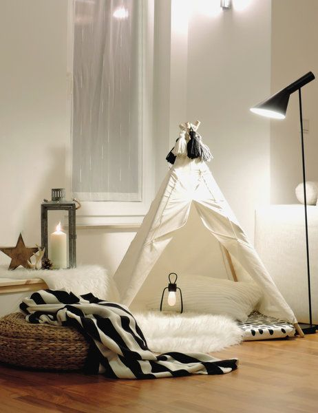 Tipis, Festungen and Kinderzimmer on Pinterest