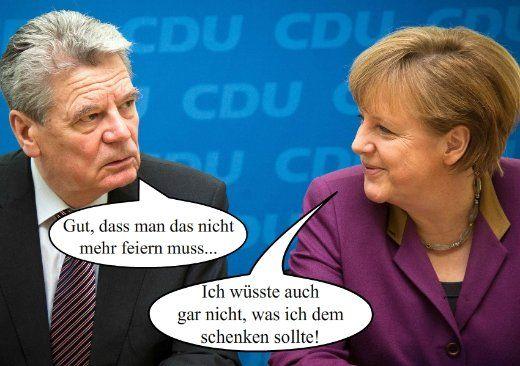 Jeder hat so seine Freiheiten...    FÜHRERS GEBURTSTAG  #Gauck beruhigt