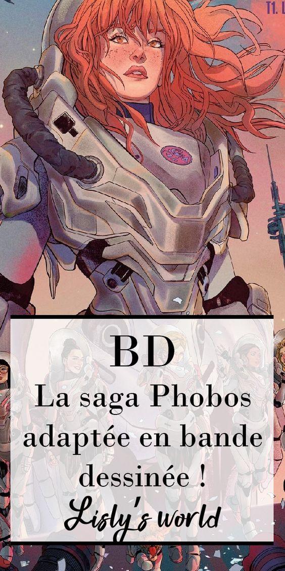 La saga Phobos adaptée en bande dessinée !