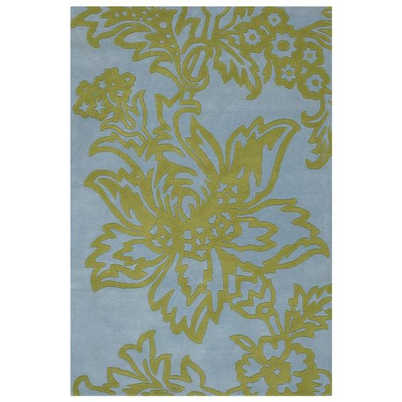 Amy Butler Parrot Tulip Hand Tufted Wool Rug