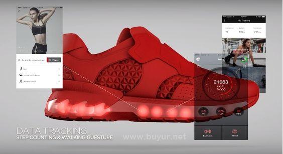 Lenovo Yaoat F2 Akıllı Ayakkabı