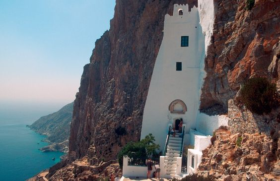 AMORGOS: The Deep Blue Greek Island !!