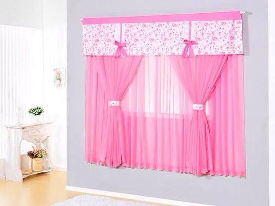 Cortinas pra su cuarto de ni a hermosas cosas casa pinterest - Cortinas habitacion bebe nina ...