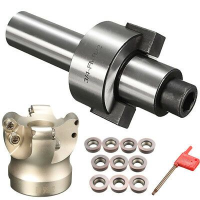 4Flute EMR 5R-50-22 cnc tool Face End Mill Indexable Cutter for Flat Cutting