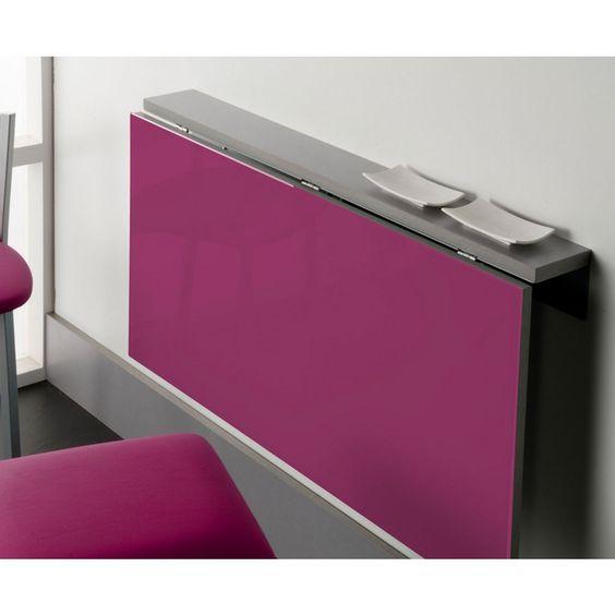Práctica mesa abatible modelo daviu. es una mesa para espacios ...