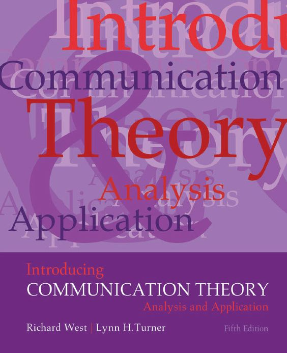 communications theory application Noun 1 communication theory - the discipline that studies the principles of  transmiting  applying communication theory for professional life: a practical.