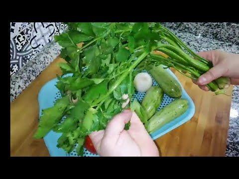 اكلة بالكرافس سخونة فهاد البرد وصحية إلا جربتيها ماغديش تستغناي عليها Youtube Green Beans Vegetables Food