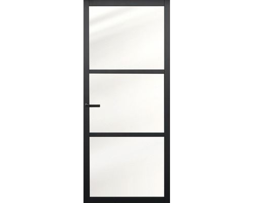 Pertura Binnendeur Industrieel Zwart 1000 Opdek Links 78 X