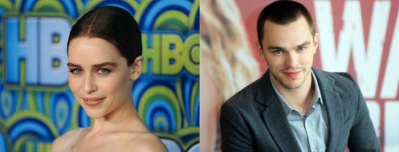 #EmiliaClarke et #NicholasHoult incarneront à l'écran le célèbre couple de gangsters Bonnie & Clyde