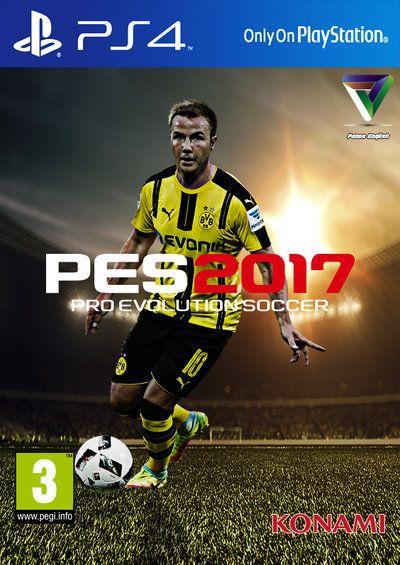 Pro Evolution Soccer 2017 Custom Cover by PanosEnglish.deviantart.com on…