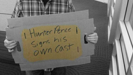 Hunter Pence Signs.