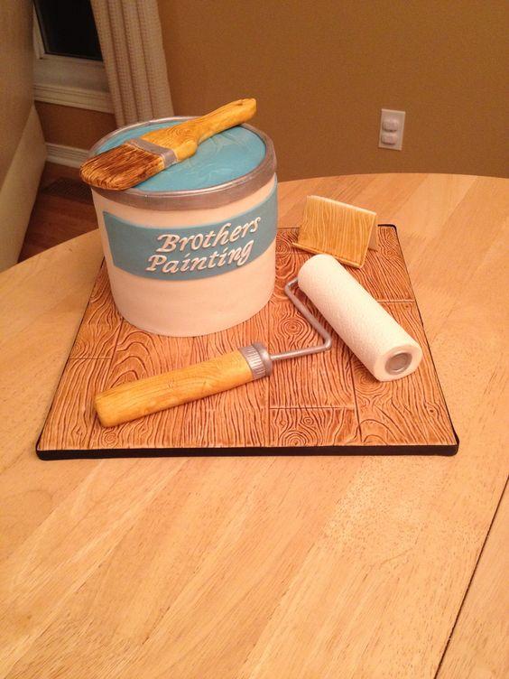 Painter's Cake