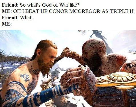Badly Describing God Of War God Of War Kratos God Of War War