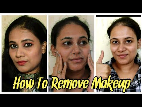 How To Remove Makeup Properly Without Makeup Remover At Home The Easy Way Telugu 2020 Youtube In 2020 Without Makeup Makeup Remover How To Remove