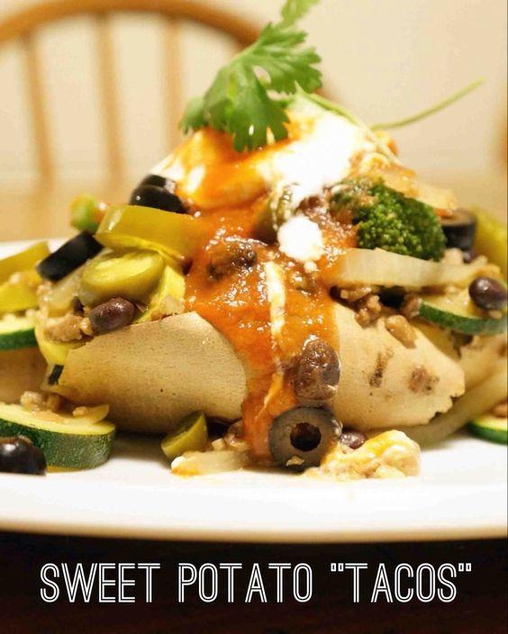 "sweet potato ""tacos"""