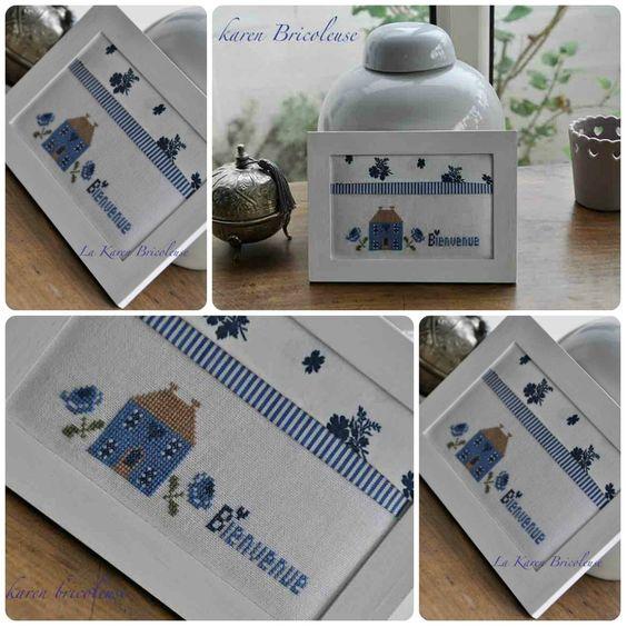 maison bleu e