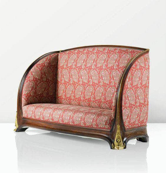 art nouveau sofa louis majorelle 1905 home decor ideas. Black Bedroom Furniture Sets. Home Design Ideas