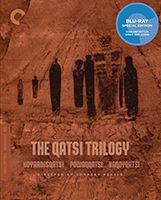 Koyaanisqatsi - Life out of balance; Powaqqatsi - Life in transformation; Naqoyqatsi - Life as war