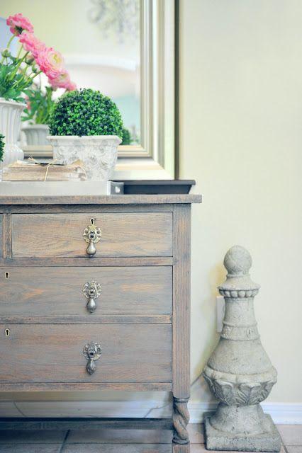 Dresser Makeover With Driftwood Gray Stain Paint Love Pinterest Dresser Makeovers