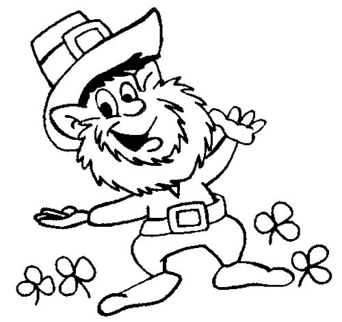 pic2 st patricks day coloring pages - St Patrick Coloring Page Catholic