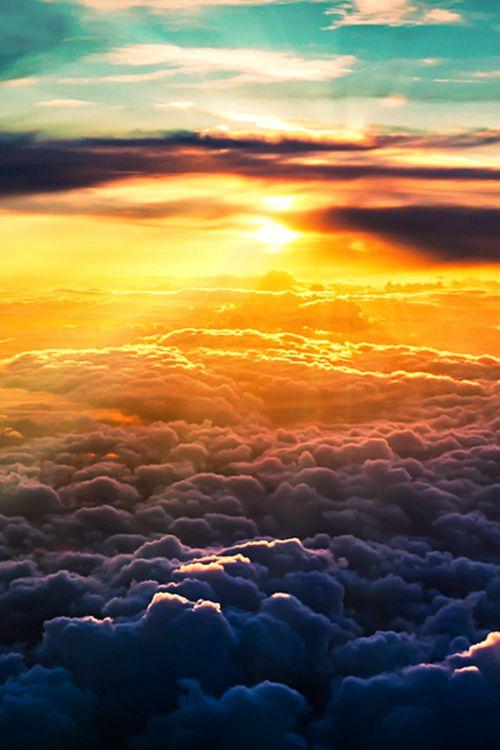 céu nuvem sol