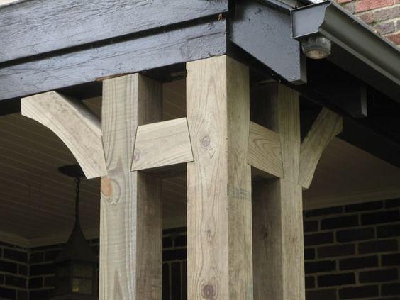 Porch Posts Home Renovations Pinterest Tool Sheds