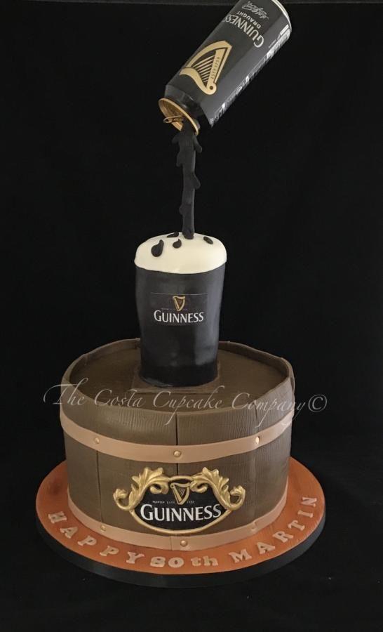 Amazing Guinness Cake By Costa Cupcake Company Guinness Cake Bottle Cake Birthday Cards Printable Benkemecafe Filternl