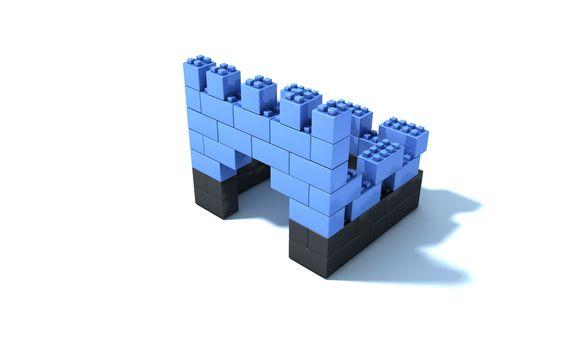 Bouw een eigen fort, zie hier alvast één van de leuke ideeën voor een speelkasteel #qubeit #karwei #bouwen #creatief #kasteel #fort