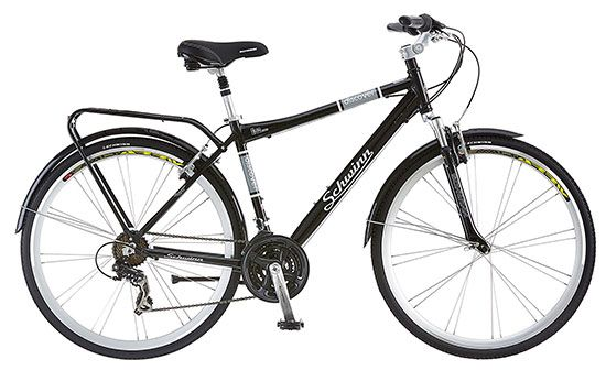 Schwinn Discover Mens Hybrid Bike Review 2020 Schwinn 700c Wheel