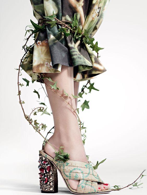 Alisa Ahmann, Grace Hartzel, Ine Neefs, Maartje Verhoef, Pooja Mor, Poppy Delevingne, Xiao Wen Ju by Willy Vanderperre for Vogue US March 2016 1