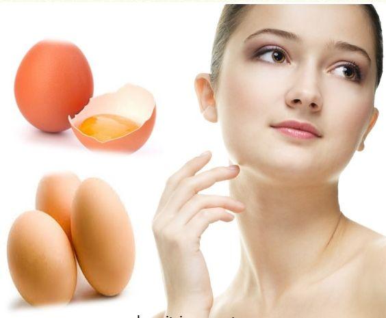 Cách dưỡng da mặt nhờn bằng trứng gà