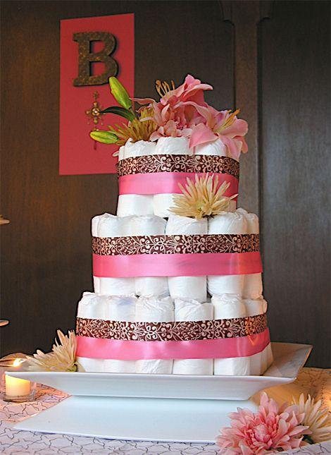 diaper cake...