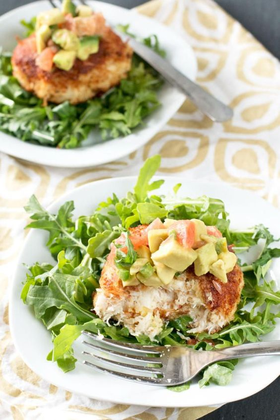 Crab cakes, Crabs and Salsa on Pinterest