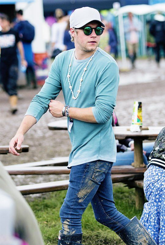 Damn....is it just me or  when Niall pulls up his sleeves it is just hot...... I need help