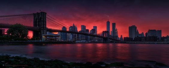 BROOKLYN BRIDGE - to purchase this print and for licensing requests: benosar@gmail.com  BROOKLYN BRIDGE  Image of the Brooklyn Bridge in front of the Manhattan's skyline is certainly one of the most iconic ones. It was on top of my wishlist but due to many distractions, I ended up shooting most of New York in great weather while delaying this one until the end of my trip. When I finally found the time to cross the East River to find this view, I was very disappointed; weather was bad and…