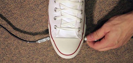 Converse crée des chaussures spécialement pensées pour les guitaristes