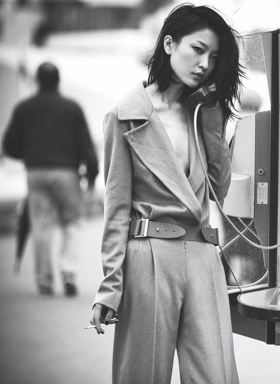 Du Juan for Harper's Bazaar China August 2012