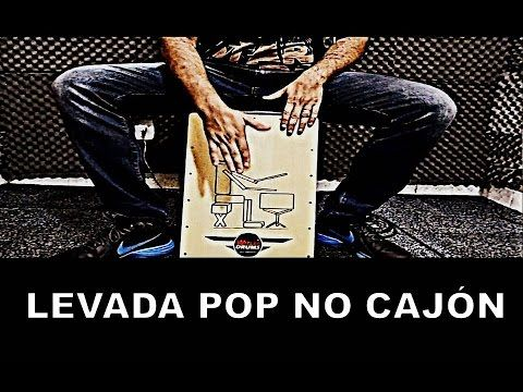 LEVADA POP - AULA DE CAJÓN WITLER DRUMS - Tronnixx in Stock - http://www.amazon.com/dp/B015MQEF2K - http://audio.tronnixx.com/uncategorized/levada-pop-aula-de-cajon-witler-drums/