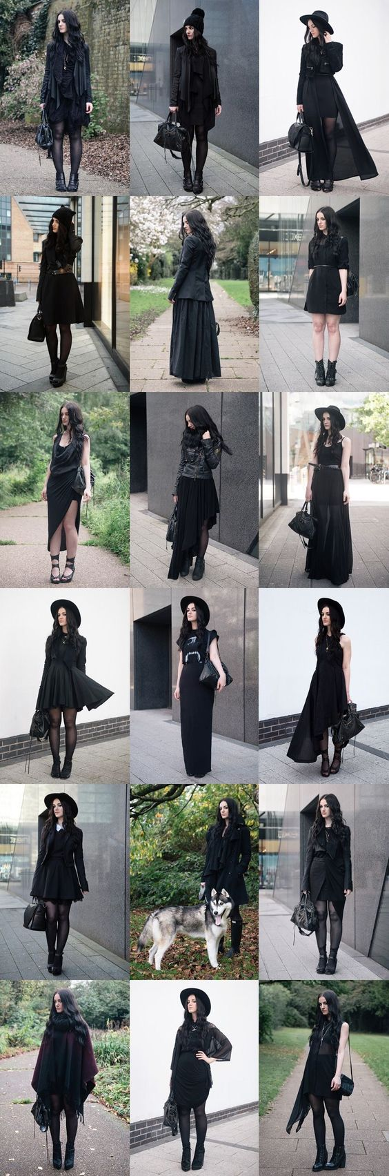 outfits negros