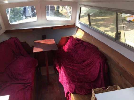 This small 23 ft Cruiser is now for sale. It has a 2 rooms. One in the back…